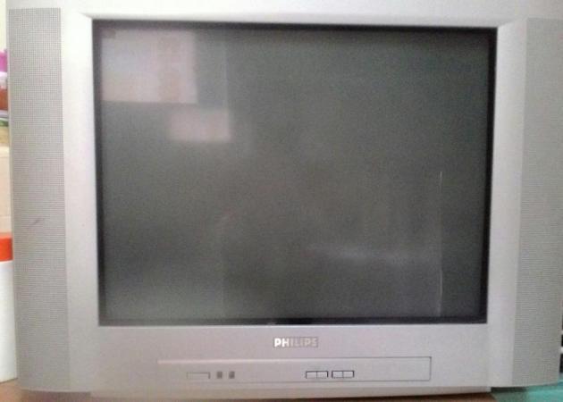 飞利浦 crt 电视机